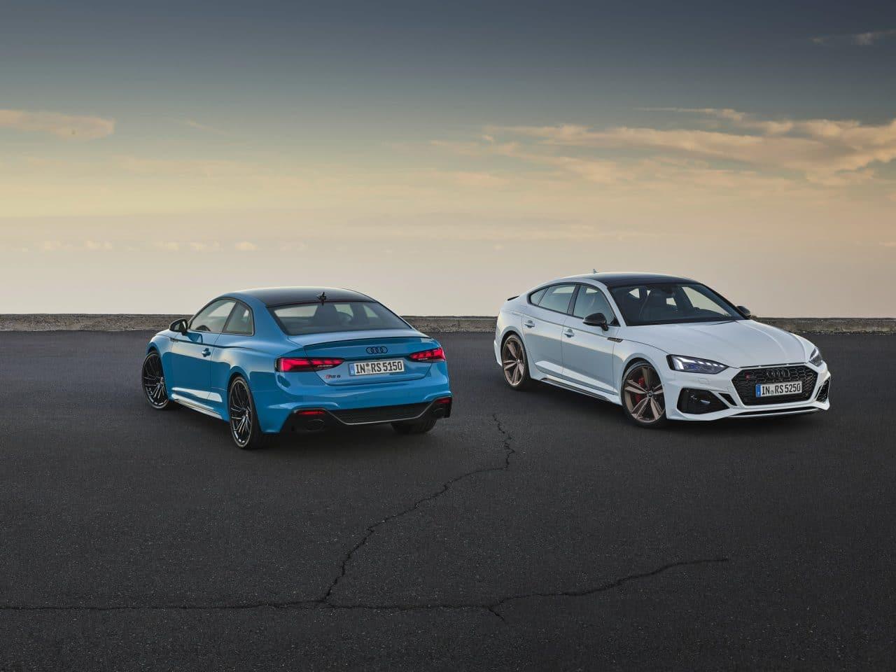 Nouveaux RS5 Coupé et RS5 Sportback (2020)