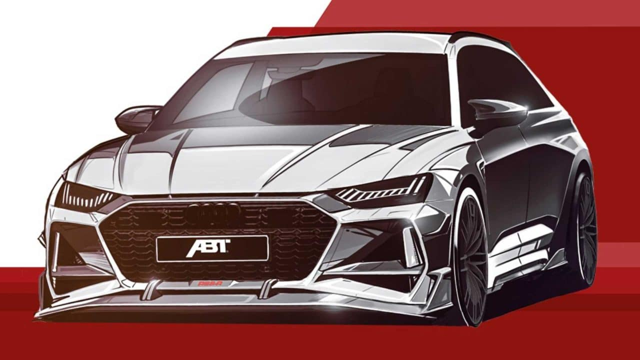 Teaser ABT Audi RS6