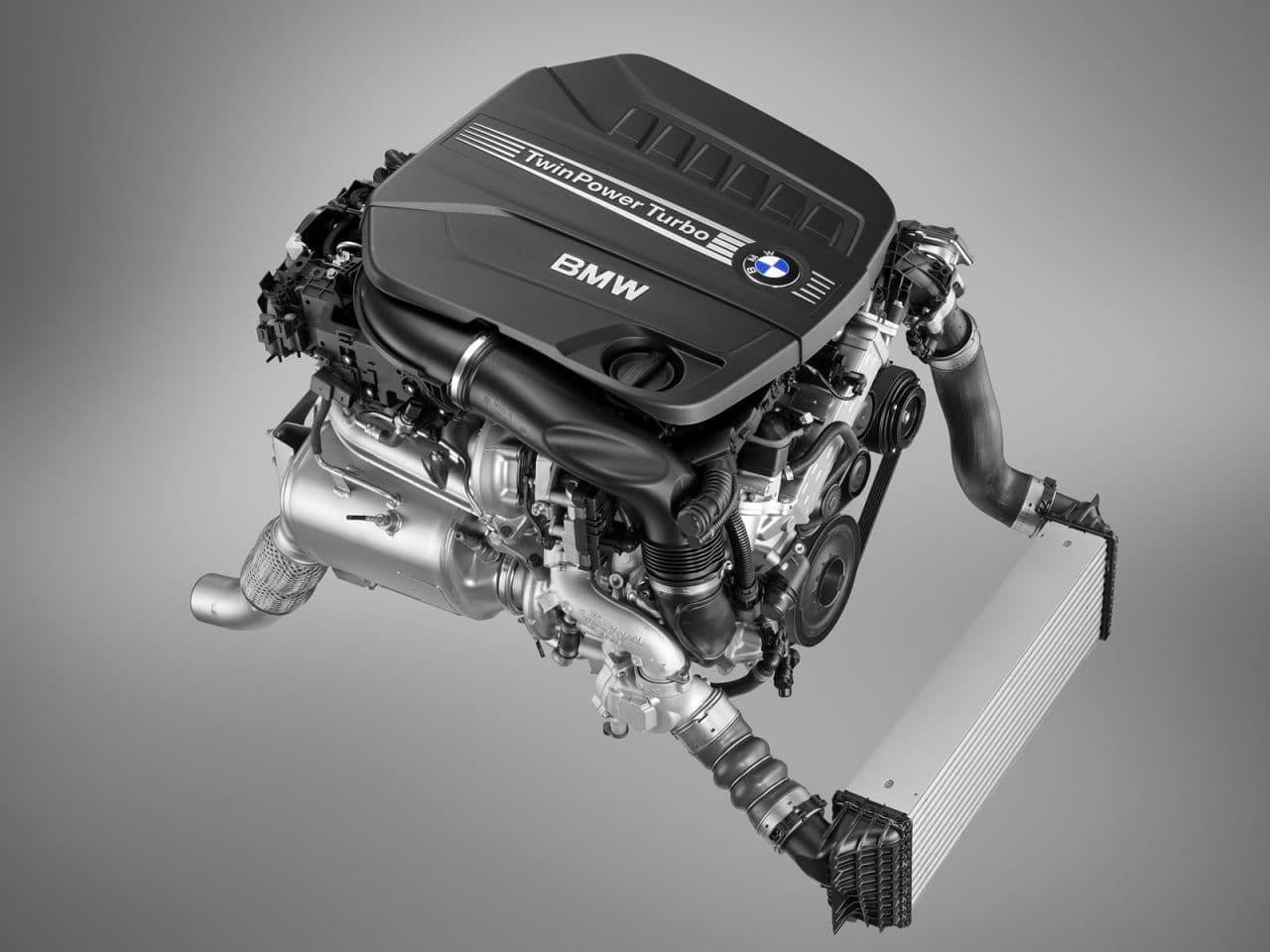 Moteur diesel quatre turbos BMW