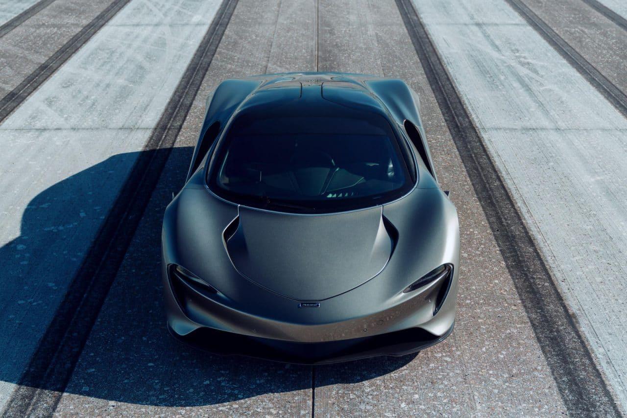 McLaren Speedtail sur les terres de la NASA