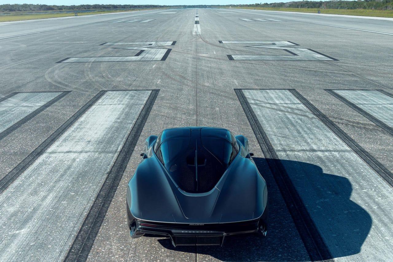 La McLaren Speedtail rend visite à la NASA