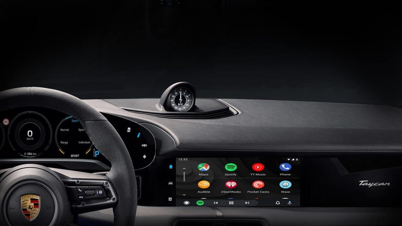 Android Auto va arriver chez Porsche