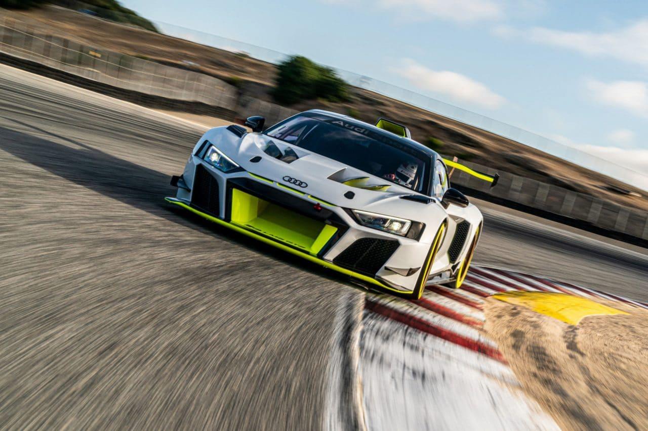 Livraison des Audi R8 LMS GT2