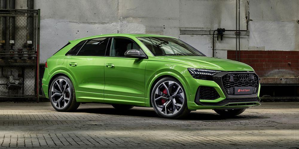 Audi rs q8 vert