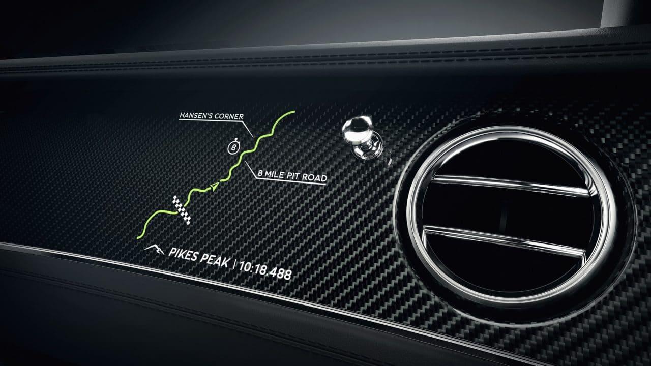 Détail de la Bentley Continental GT Pikes Peak