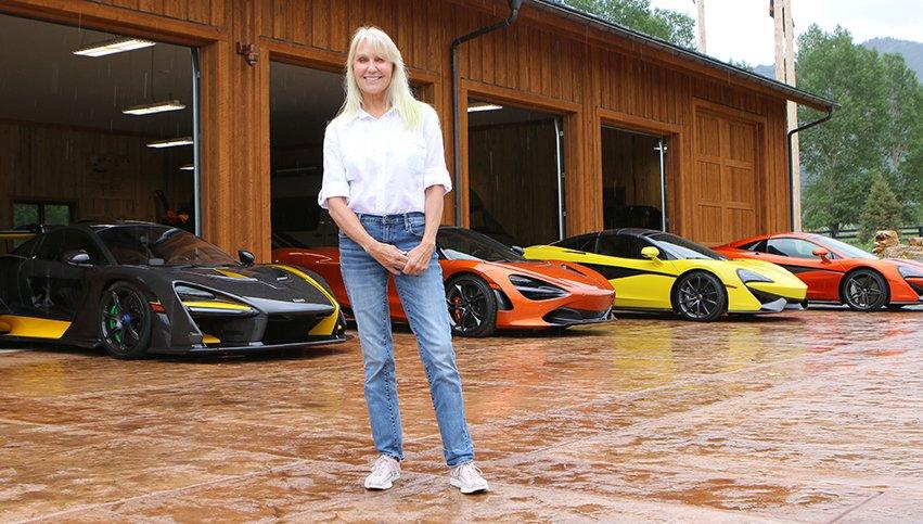La collection McLaren de Kathy Cargill