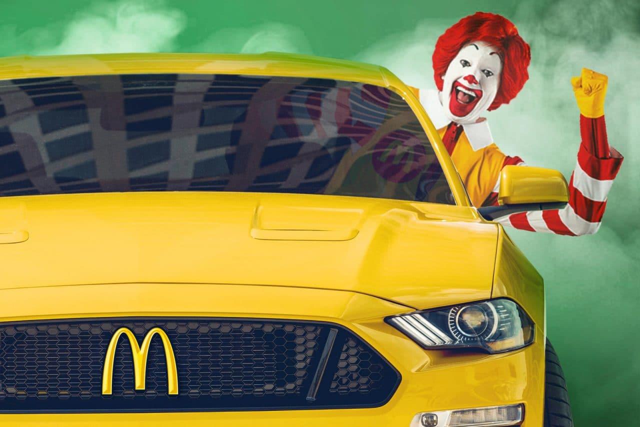 Ford partenariat avec McDonald's