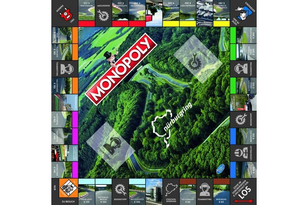 Plateau de jeu Monopoly Nürburgring