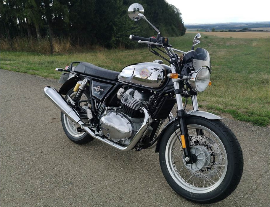 Avis Royal Enfield 650 Interceptor de Jean