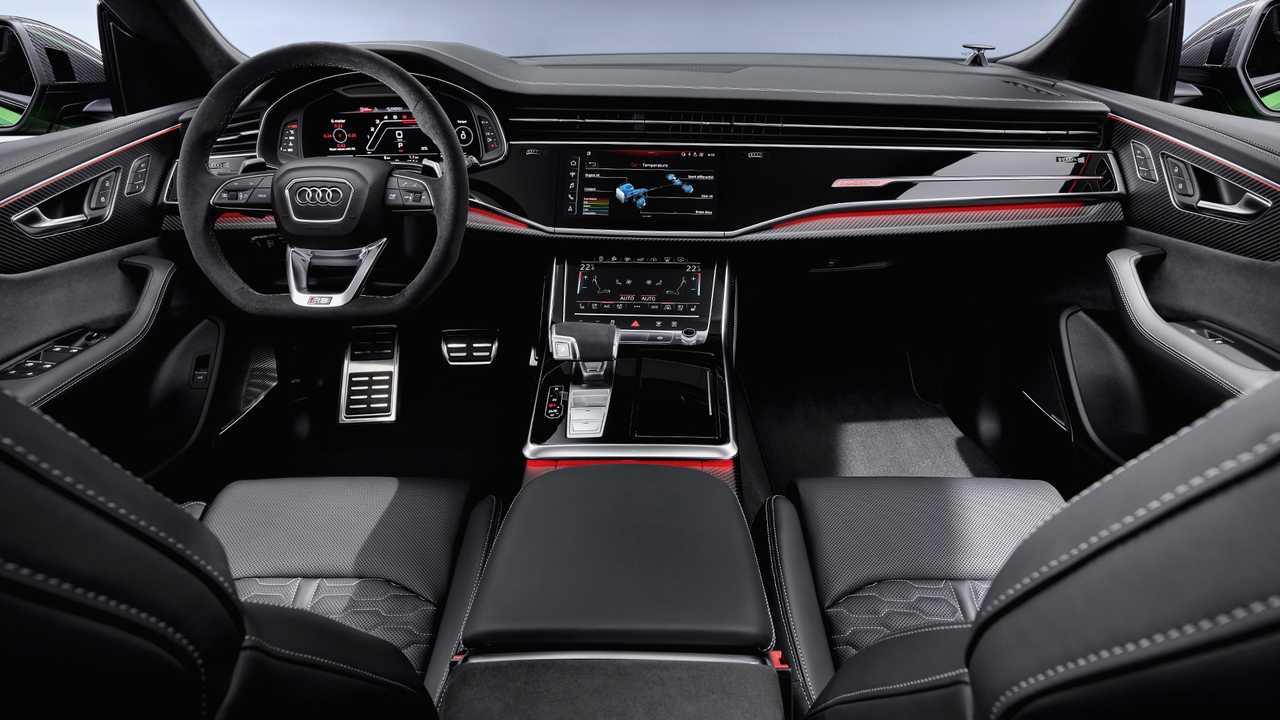 Intérieur du Nouveau Audi RS Q8