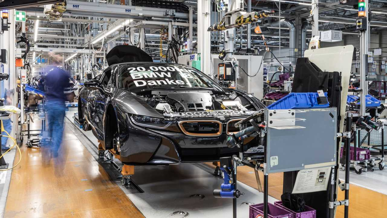 BMW i8 produite à 20000 exemplaires