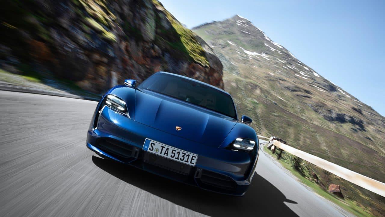 Porsche Taycan autonomie
