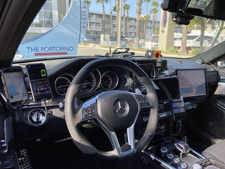 Intérieur Mercedes E63 AMG Record Cannonball 11/2019