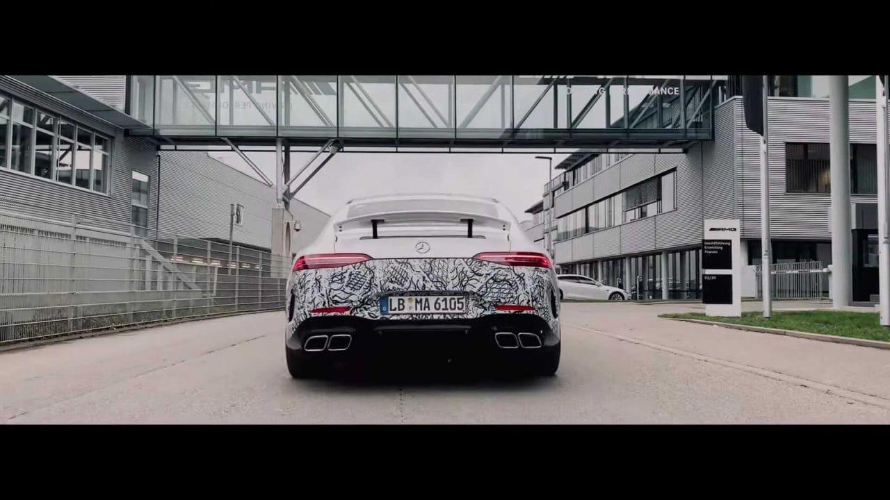 Mercedes AMG GT 73 teaser