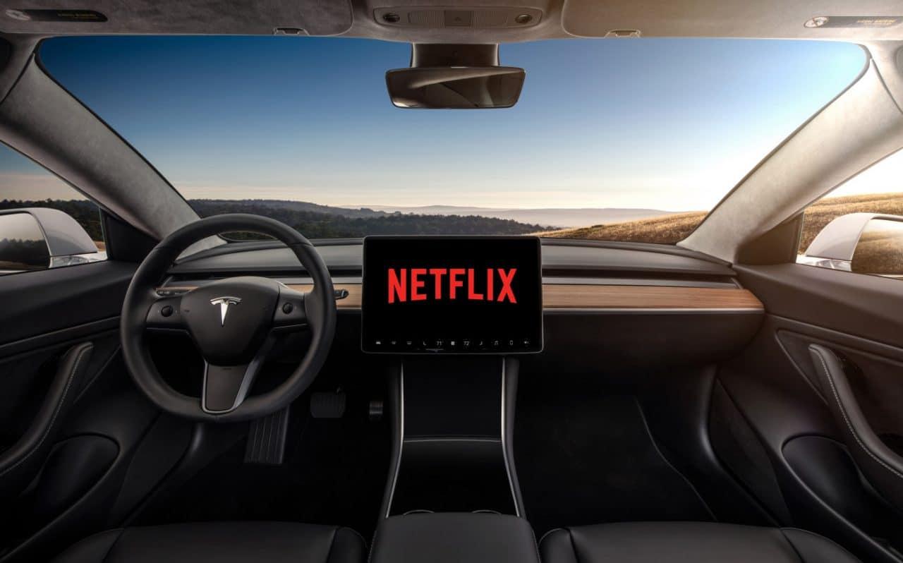 Netflix et le reste de la connectivité premium Tesla devient payant