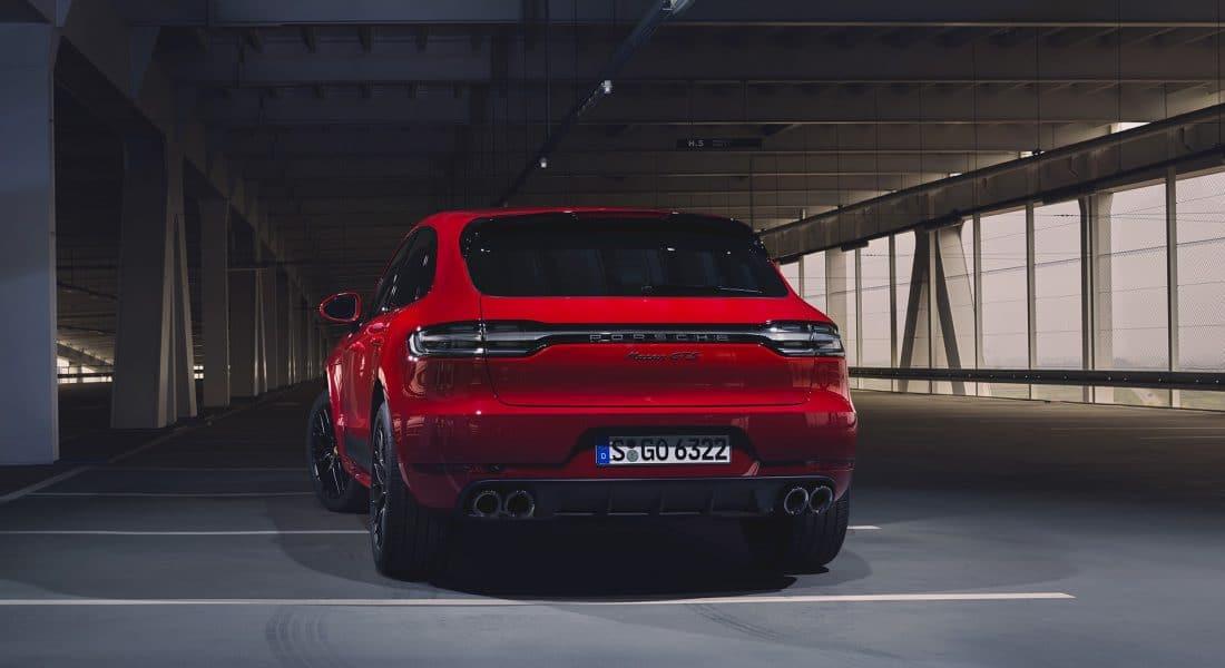 Arrière du Porsche Macan GTS (2020)