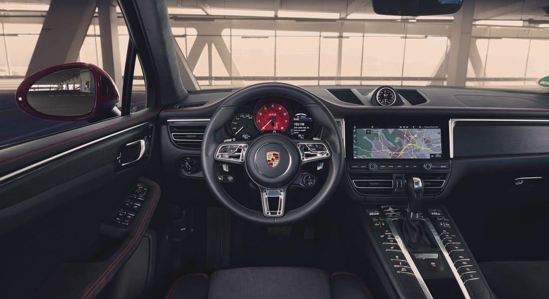 Intérieur du Porsche Macan GTS (2020)