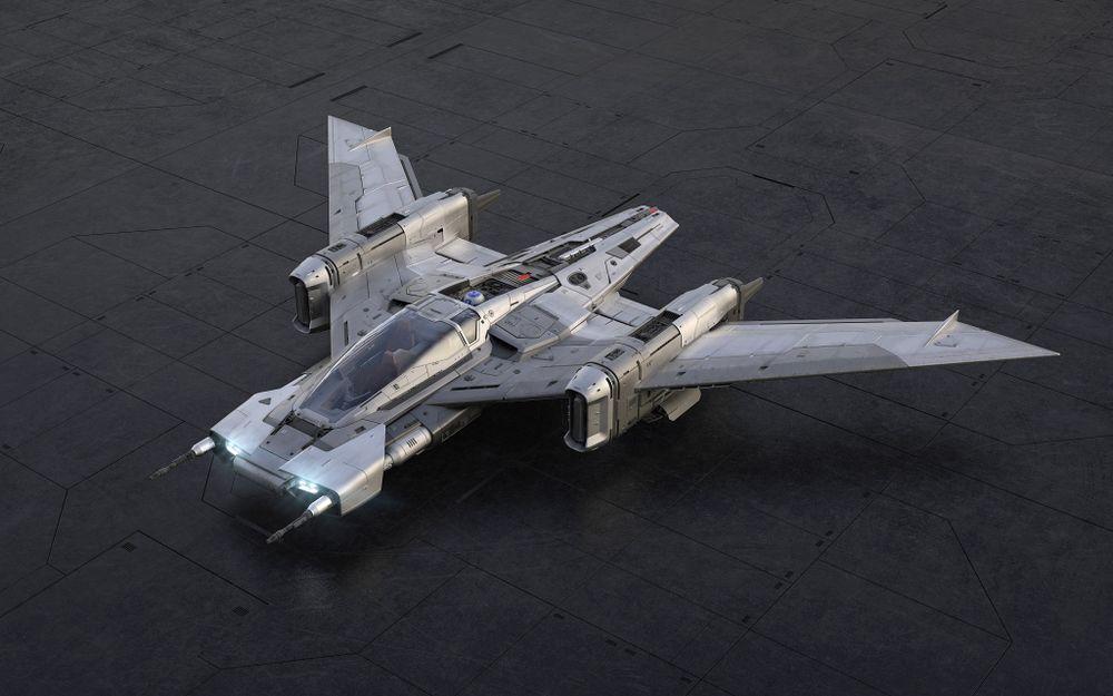 Star Wars : Porsche Tri-Wing S-91x Pegasus Starfighter