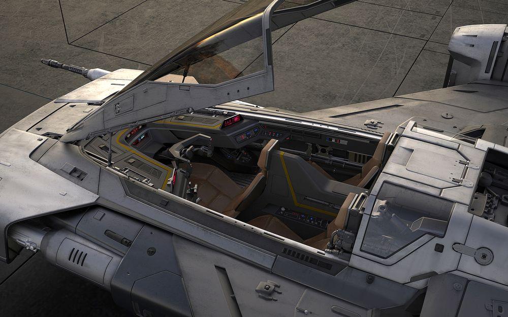 Porsche Tri-Wing S-91x Pegasus Starfighter