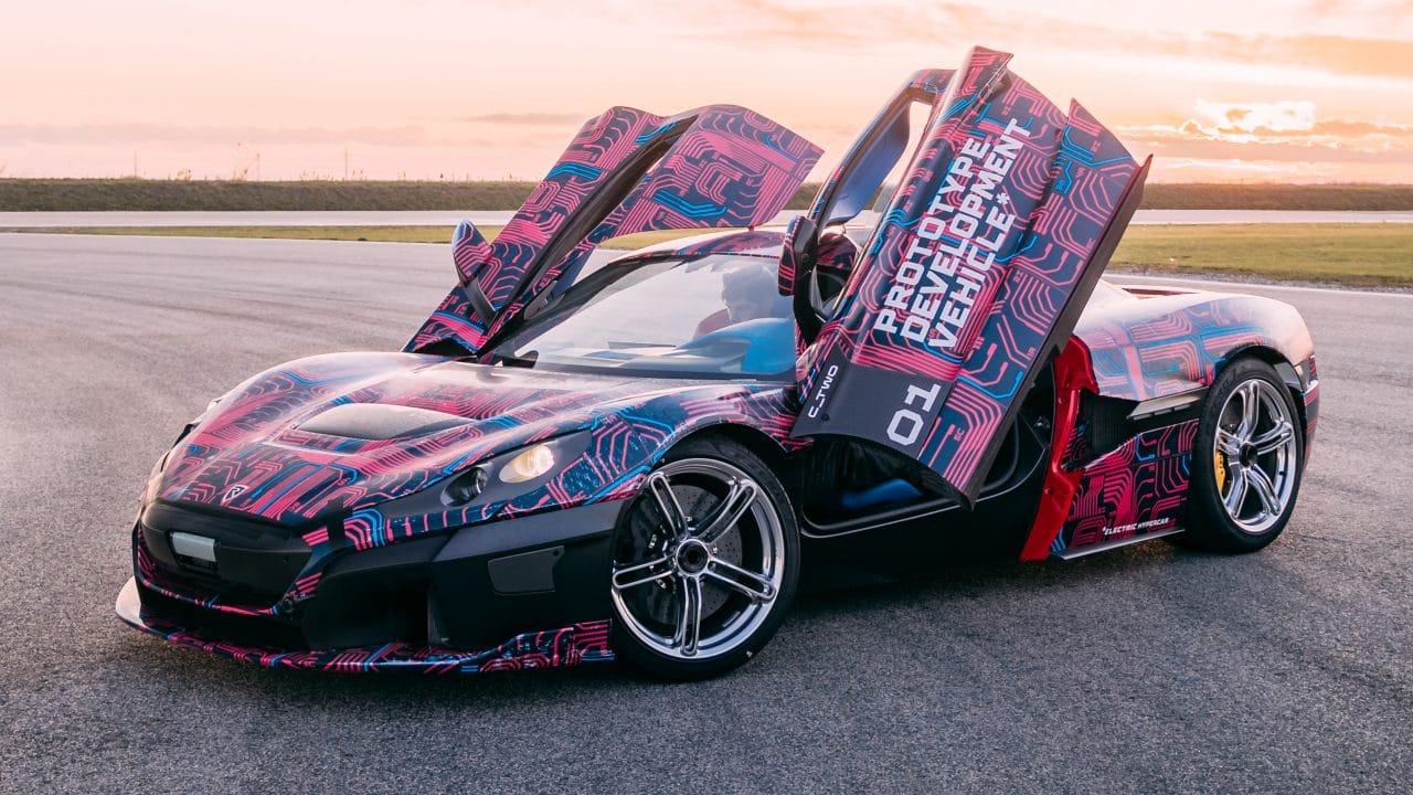 La Rimac C_Two sera présentée à Genève en mars 2020
