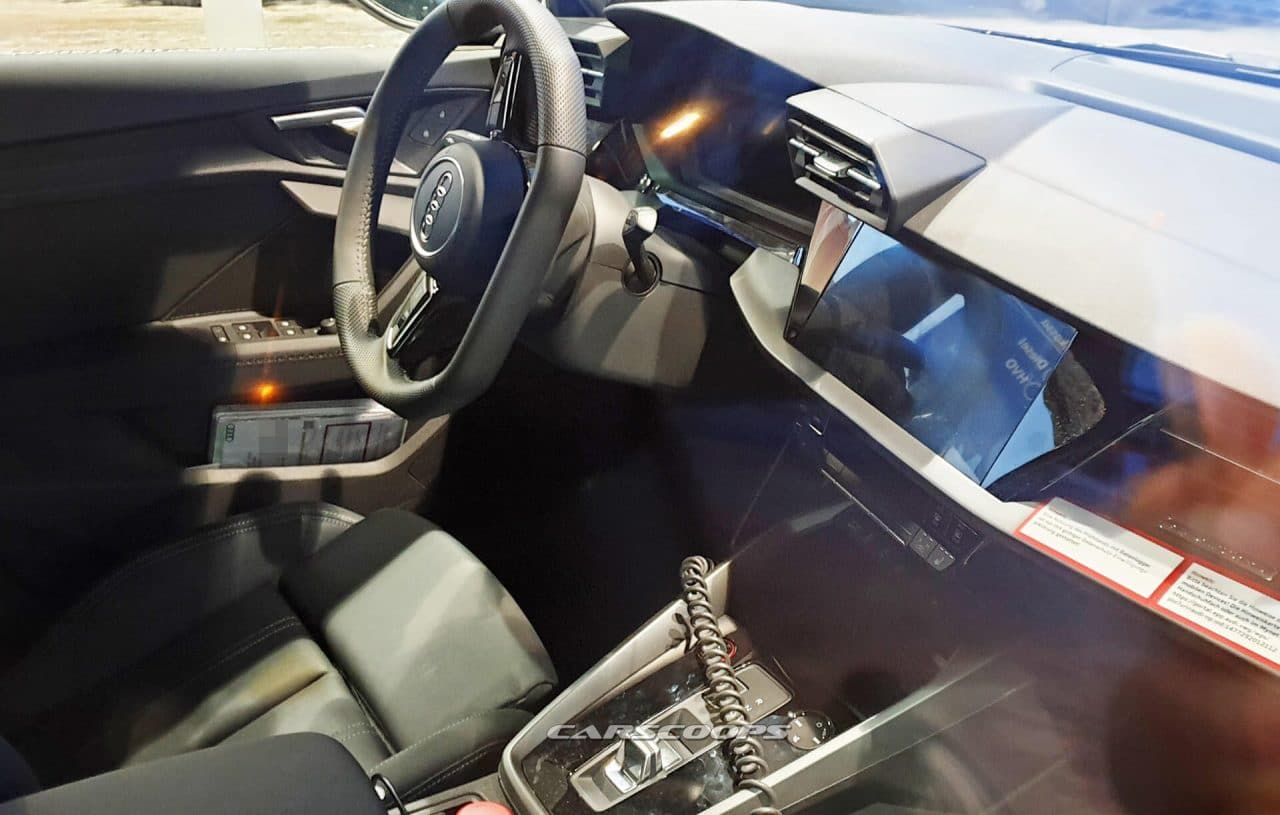2020 Audi S3 interieur leak