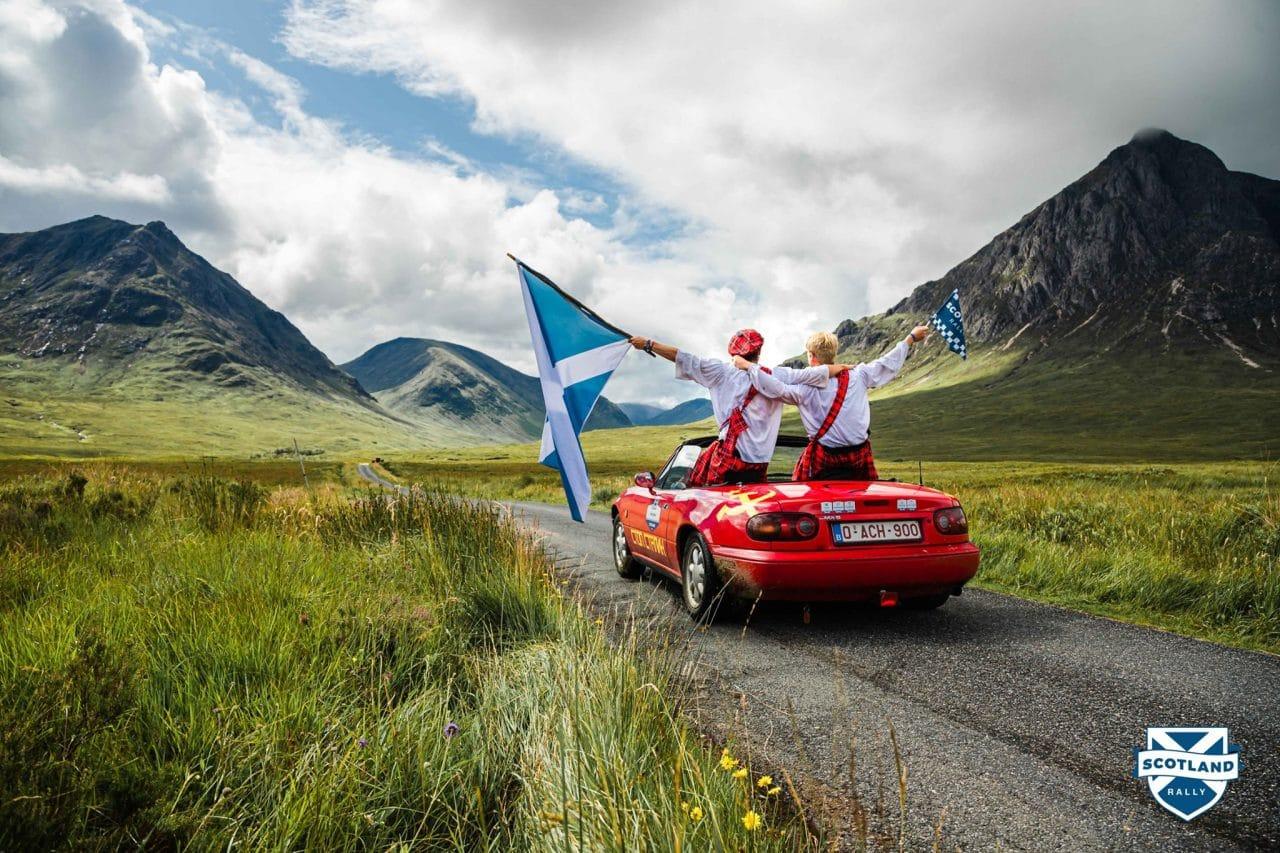 Scotland Rally MX-5