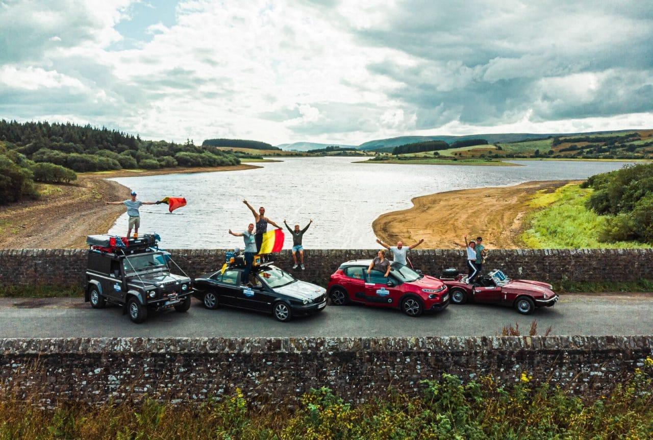 Souvenirs du Scotland Rally