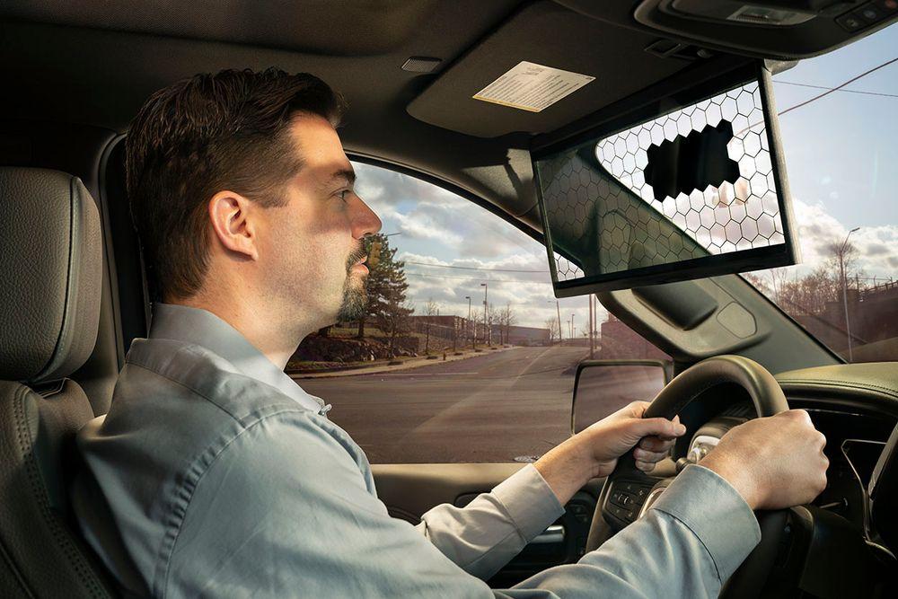 Bosch dévoile un pare-soleil 2.0 au CES 2020 de Las Vegas