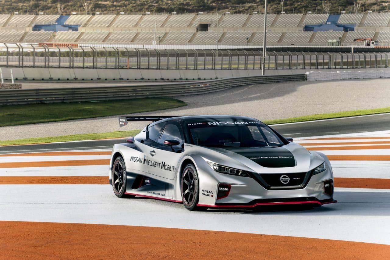 La Nissan LEAF Nismo RC entre en piste en Espagne