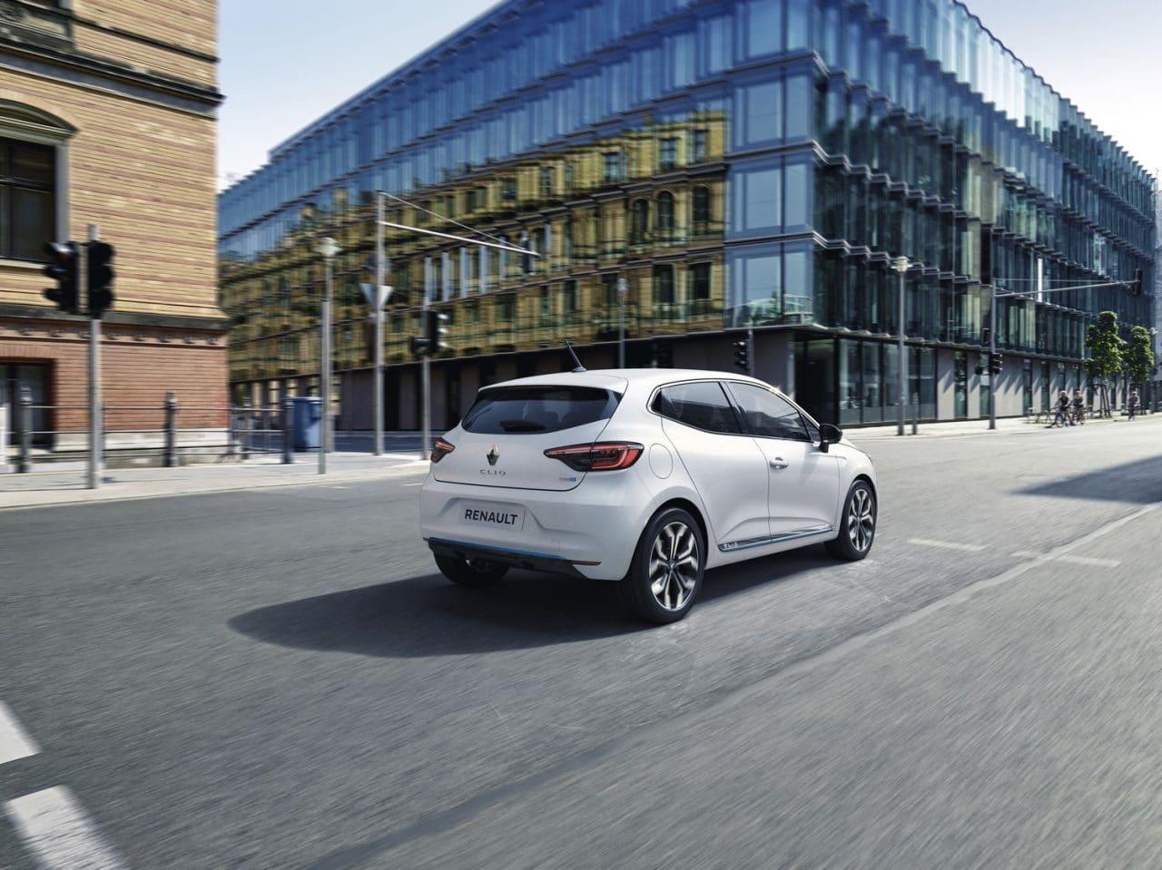 Renault Captur Clio hybride