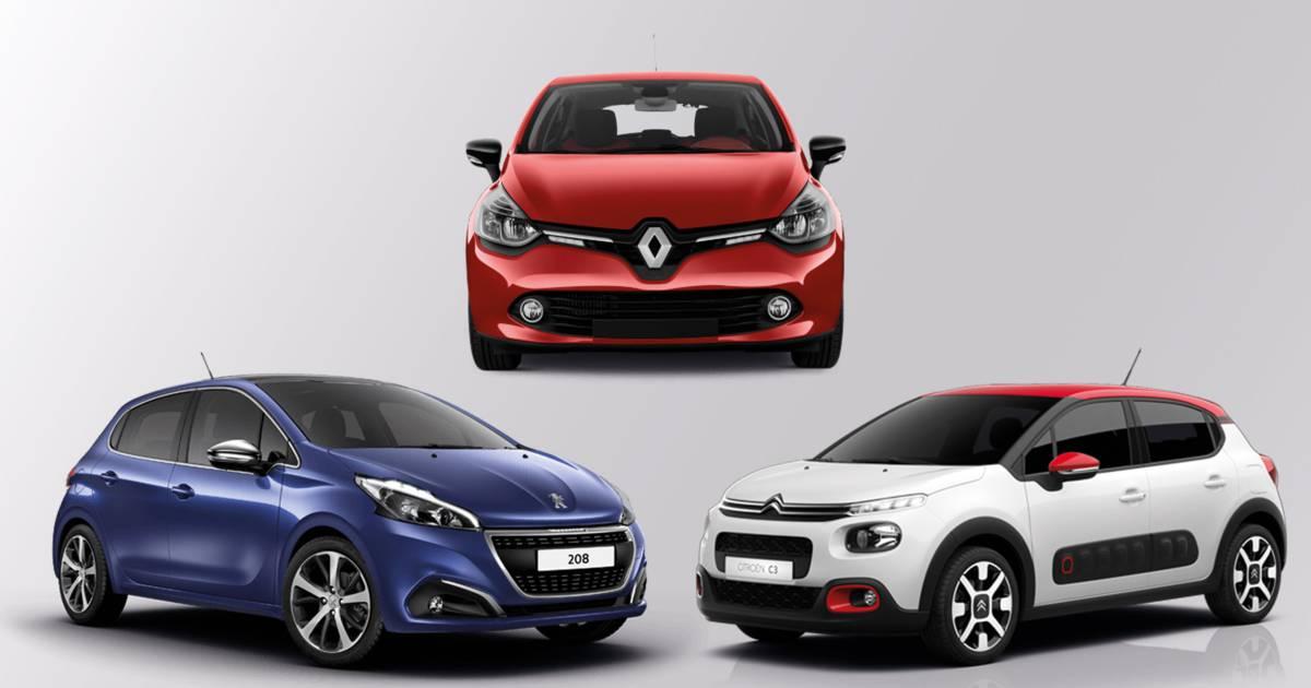 Top 50 des voitures neuves vendues en France en 2019