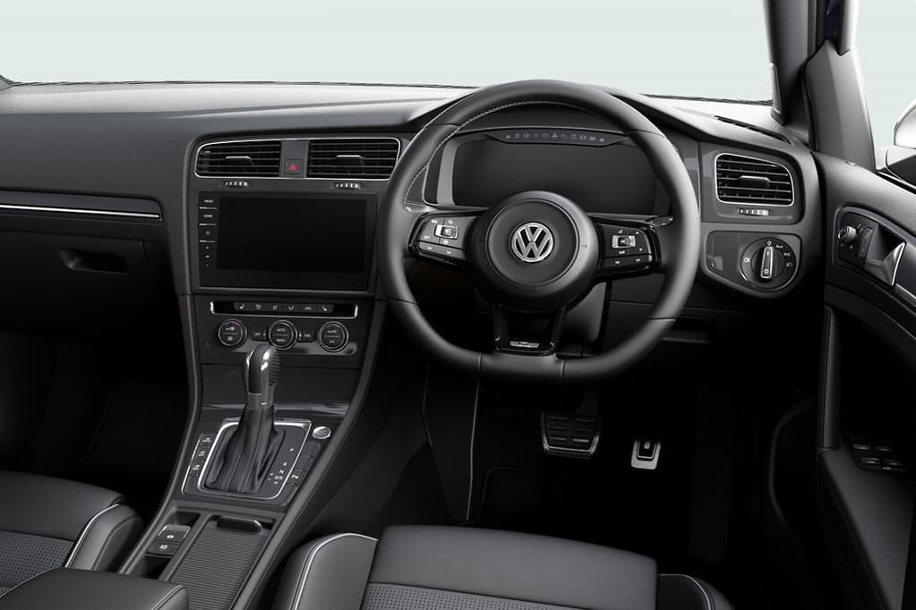 Intérieur de la Volkswagen Golf R Final Edition (Australie)