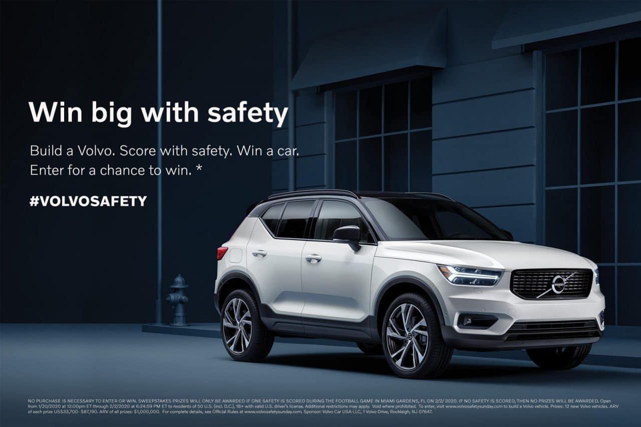 Configurez votre Volvo à gagner