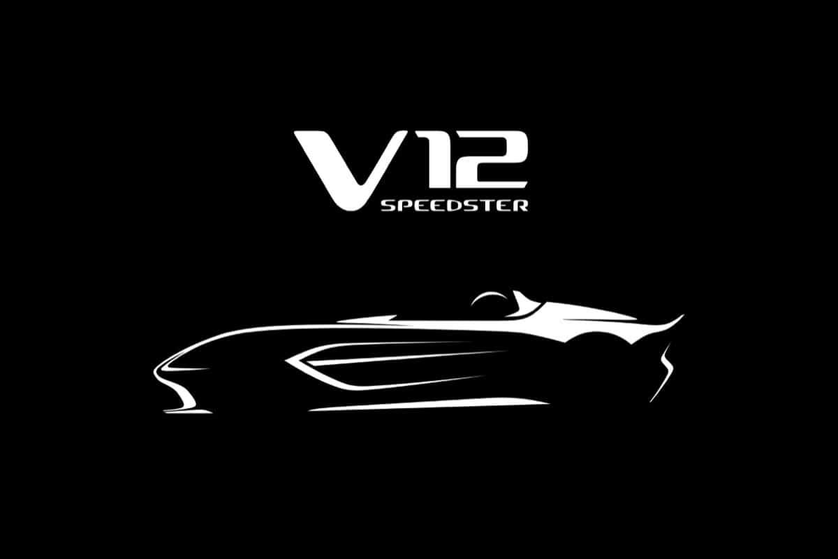 Nouvelle Aston Martin Speedster V12