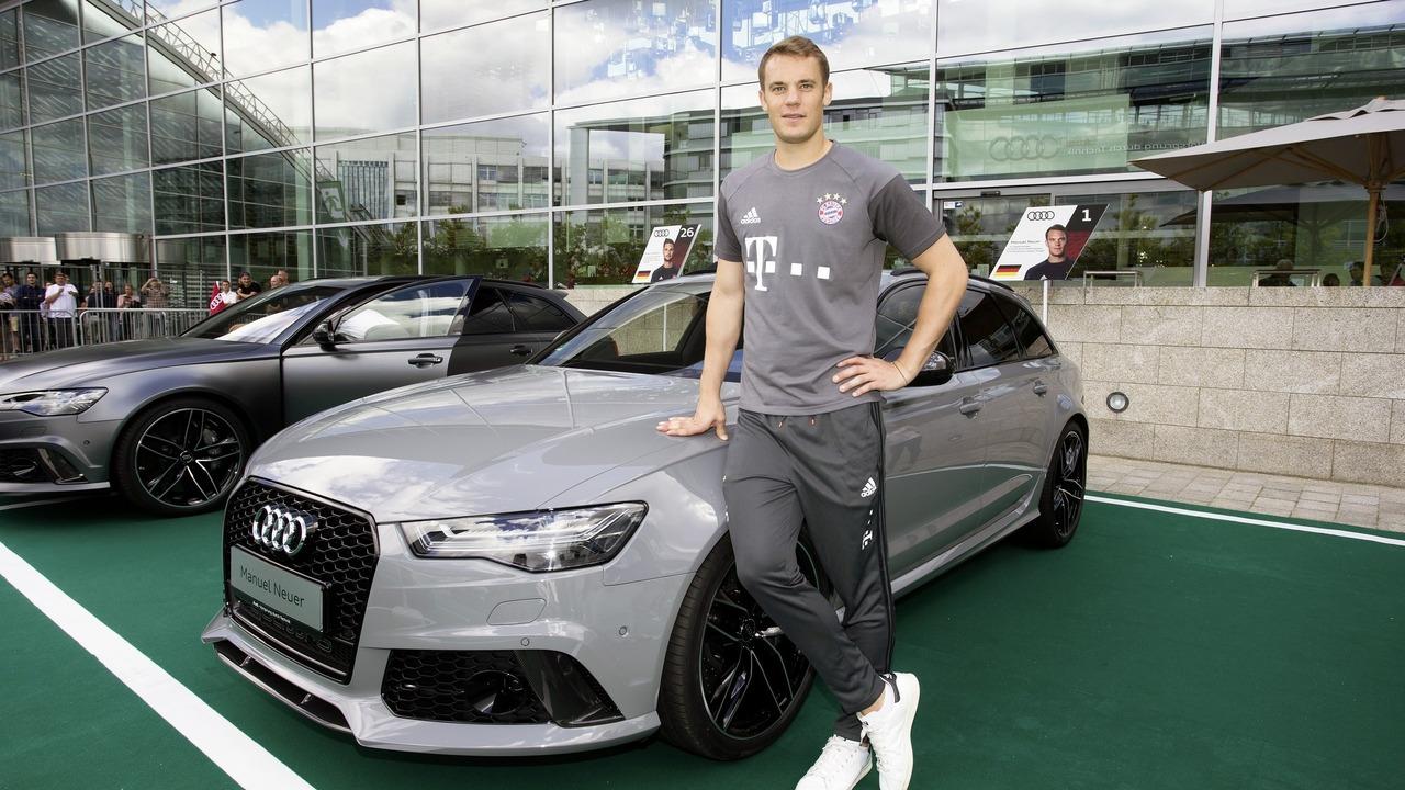 Audi Bayern foot