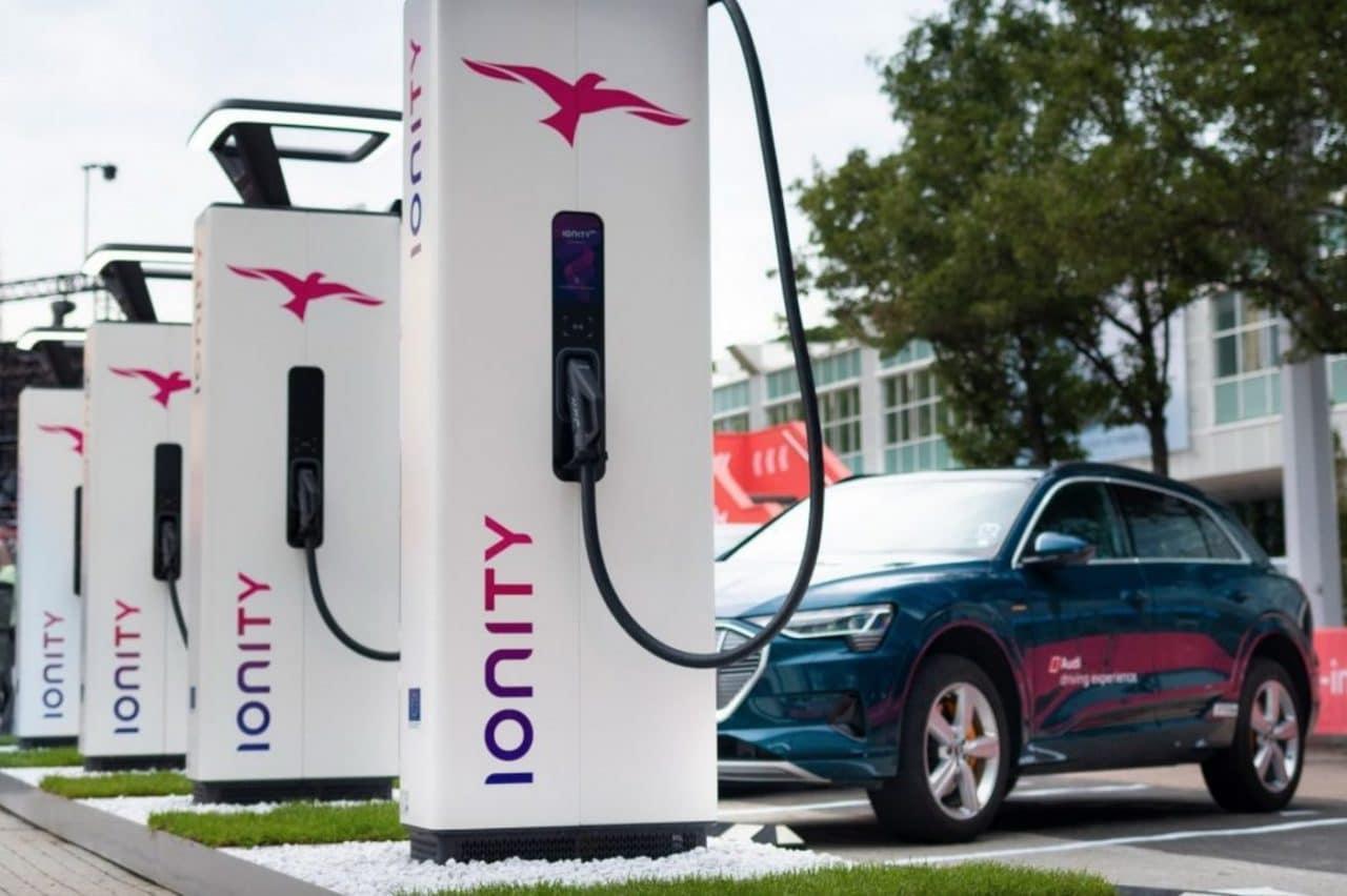 Borne recharge ionity prix