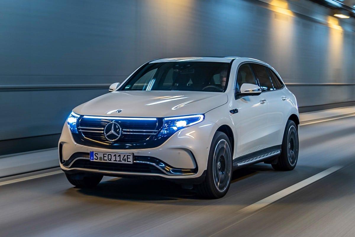 Ventes Mercedes EQC