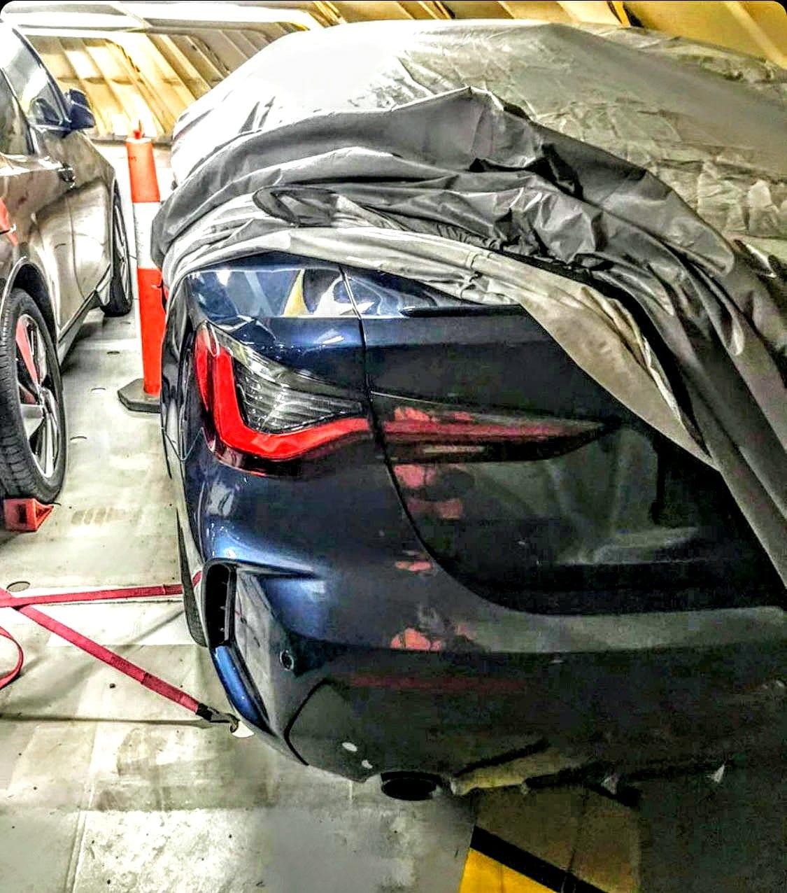 Leak 2020 BMW Série 4