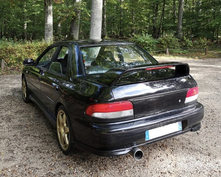 Avis des Propriétaires : Subaru Impreza GT Turbo de Lucas