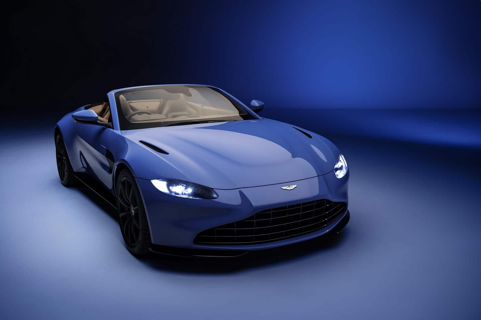 Aston Martin dévoile la Vantage Roadster (2020)