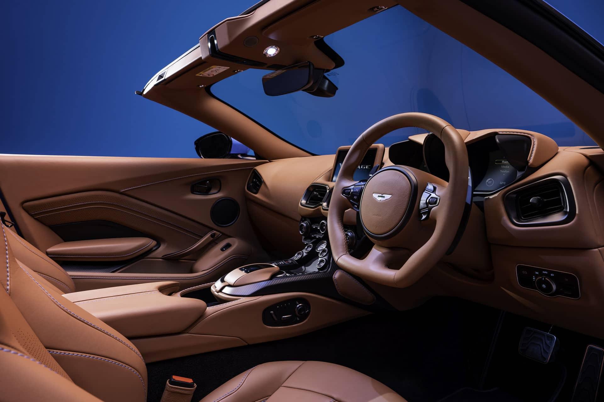Intérieur Aston Martin Vantage Roadster (2020)