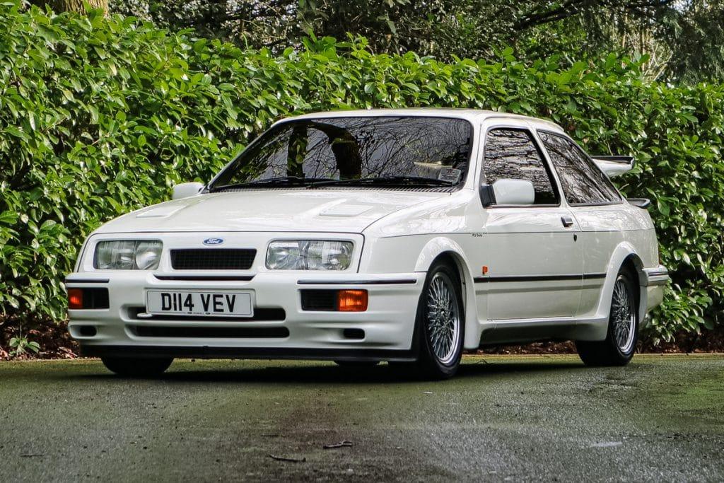 Une Ford Sierra RS500 Cosworth prototype bientôt vendue aux enchères