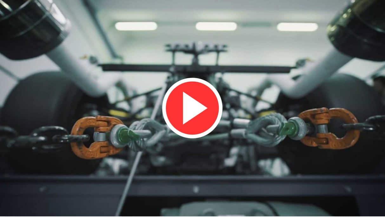 Bruit moteur Lamborghini V12 (2020)