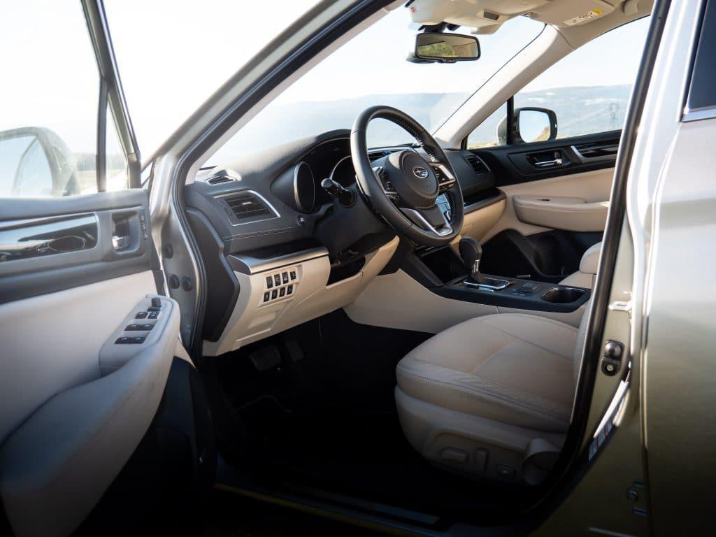 Position de conduite Subaru Outback