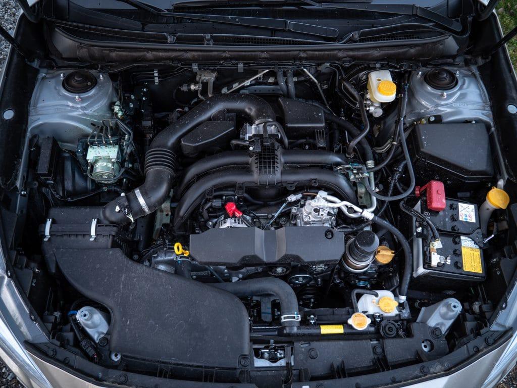 Moteur de la Subaru Outback