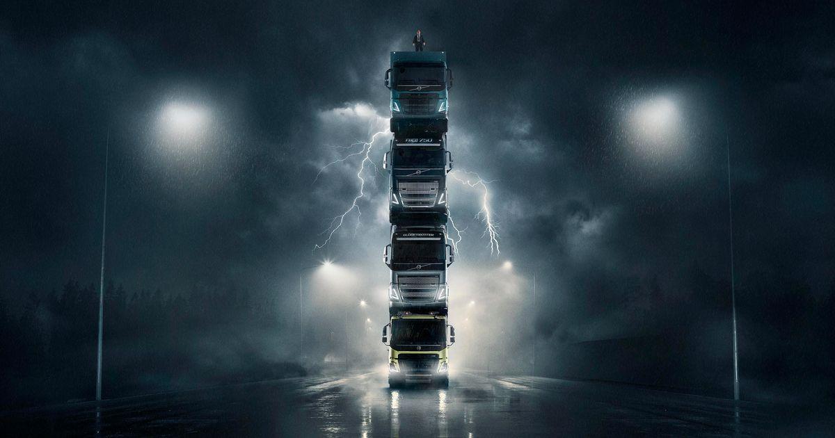 Publicité Volvo Trucks 2020