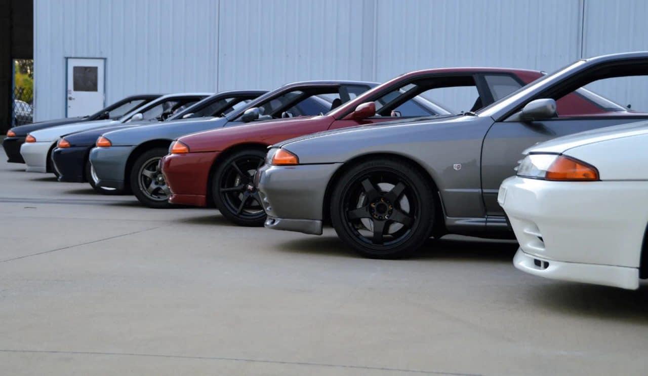 Location Nissan Skyline GT-R R32 à Las Vegas