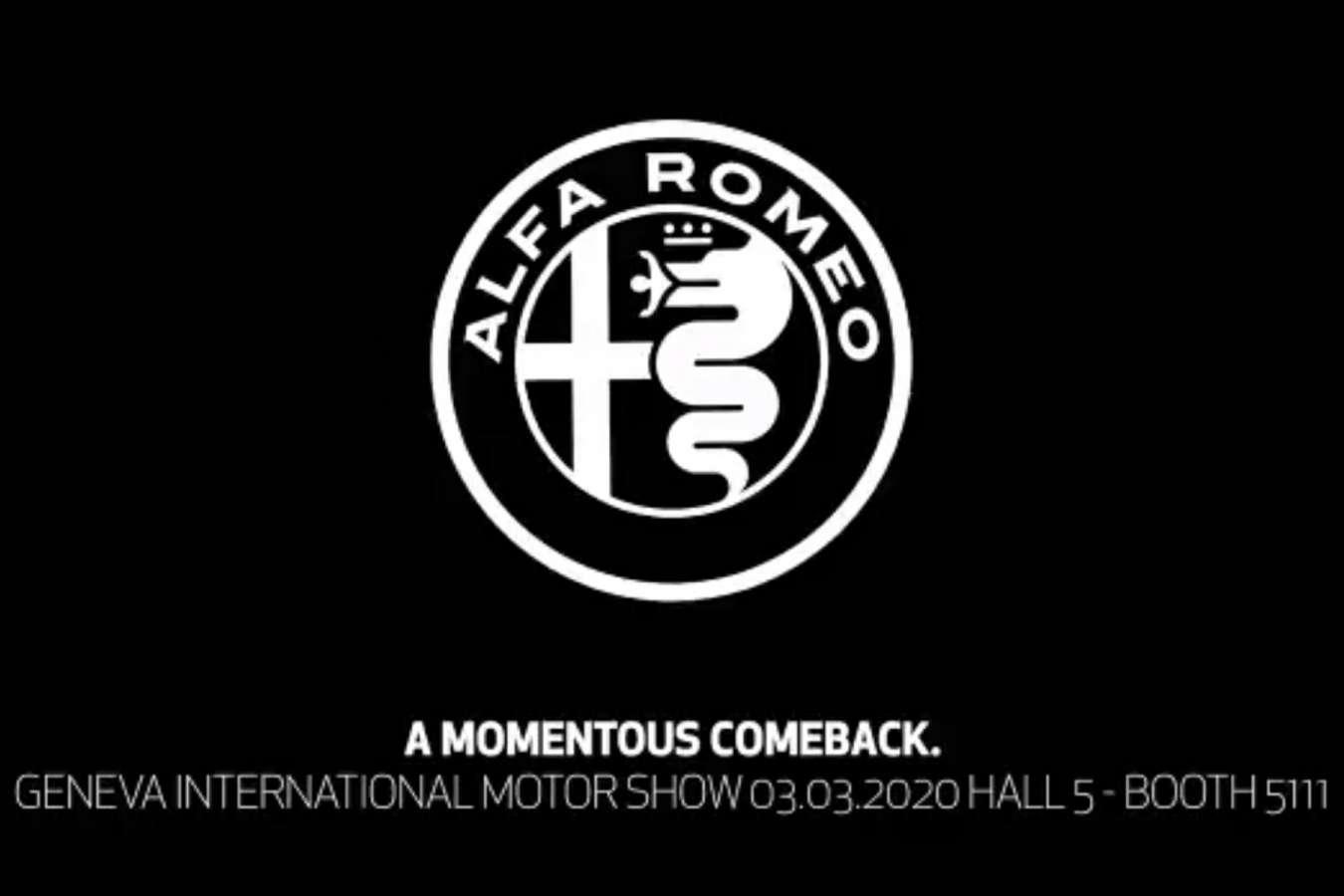 L'Alfa Romeo Giulia GTA au salon de Genève 2020 ?