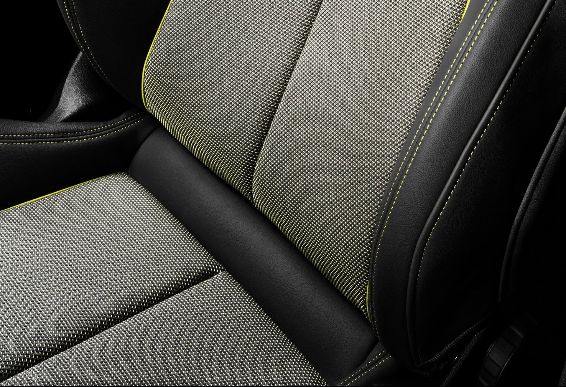 """Tissu """"Torsion"""" des sièges de la nouvelle Audi A3"""