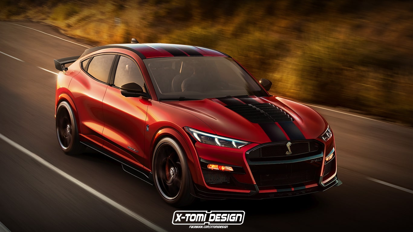 Ford Mustang Mach-E Shelby par X-Tomi Design